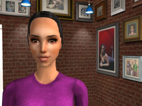 my sims wife (in a story that probably I won't make it)