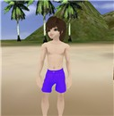 me and my new swinsuit in the paradise beach!