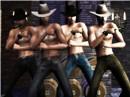 Smustling cowboys