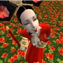 Geisha sitting sweet