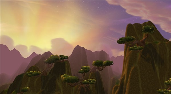 Nagrand sunrise