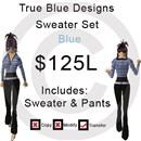 BlueSweaterSet