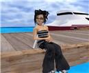 narkissa in white sand beach_4