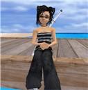 narkissa in white sand beach_3