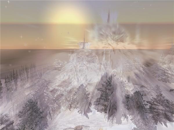 zoom on Ice Castle