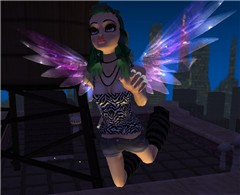 Flying around in IMVU