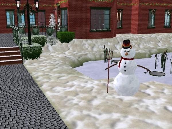 A Devil Snowman