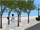 A Lonely Snowman