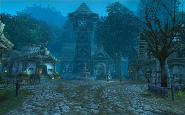 The Town Hall in Darkshire, Duskwood