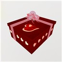 The Venkabeau VALENTINE Gift Box Small - RP#13 - GC Designs side