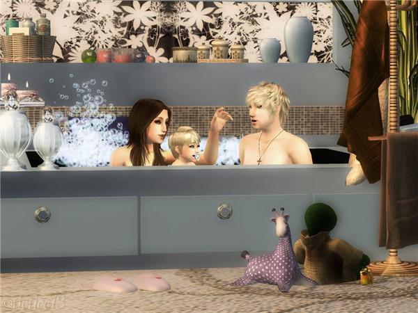 Enid's Bath Time