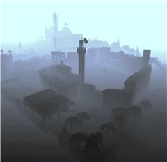 Morning in Siena