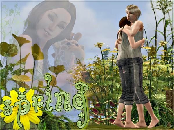 Spring Sims 2 Photo/Art Contest