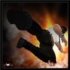 Kick pose!! whaaaaaa