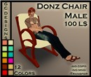 Donz Chair Male