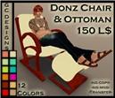 Donz Chair & Ottoman