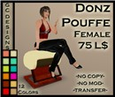 Donz Pouffe Female