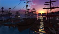Sunrise on the fleet