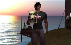 YAY!!! My fist fishing trophy!!! - Raul Crimson