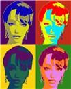 Like Andy Warhol