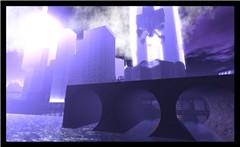 Saijo City Viaducts-Blue