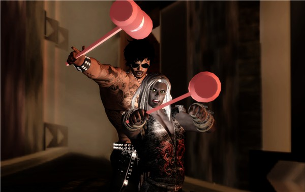 The Mighty Pink Hammer of Luuuuve Squad attacks!!! (3 of 3)