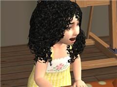 Ari DiNozzo as a Toddler