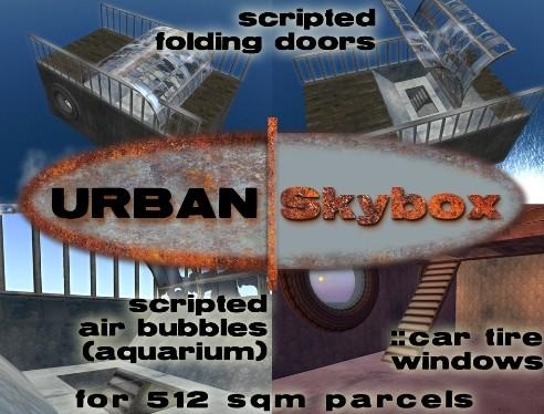URBAN Skybox - 512 sqm parcels - folding doors