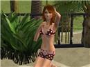 Ava at the Beach