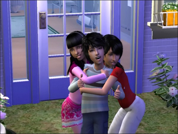 Electra, Samuel and Astrid