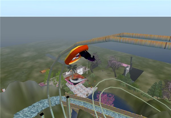 RFL 08 Water Flume Ride
