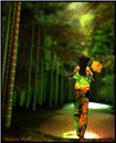 Gion Girl Walking
