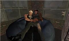 Macho Cuddling