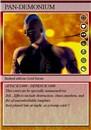 PAN-DEMONIUM TRADING CARD