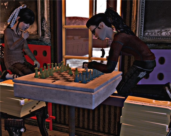 A Friendly Game Of Chess.