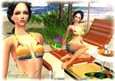 Amanda at the beach