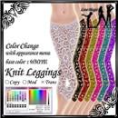 Knit Leggings-b