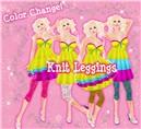 Color Change! Knit Leggings