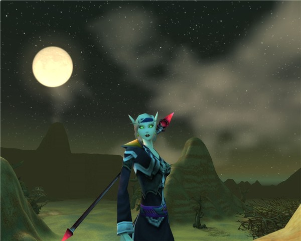 night in the Barrens