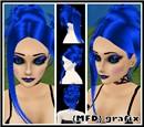 Ikumi in Electric Blue