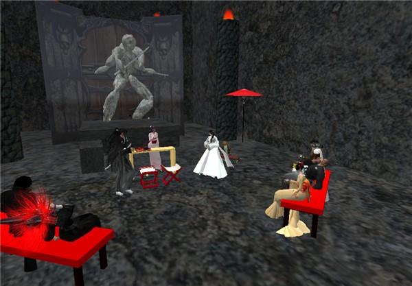 Traditional japanese wedding, secret dojo 3