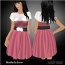 rosebelt dress