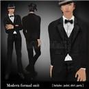 modern formal suit