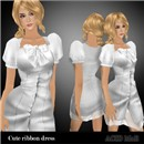 kt_acid_cuteribbon dress_light gray_w