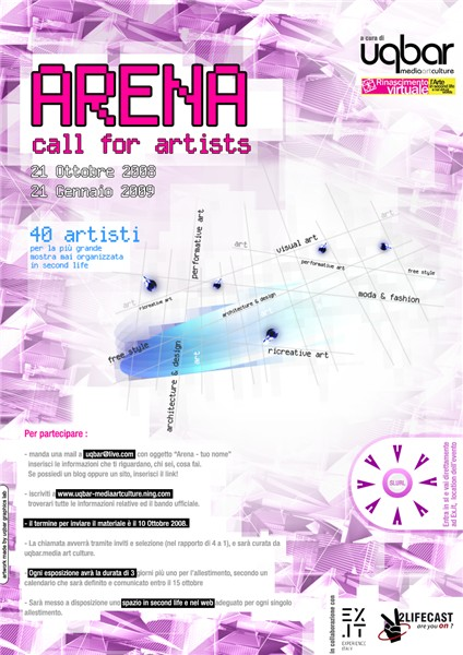 Arena Call dor Artists ita
