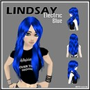 Lindsay in Electric Blue