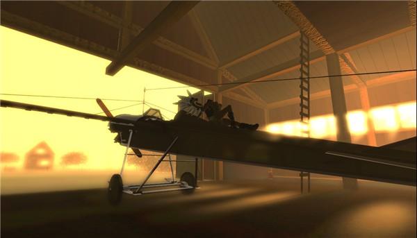 Steampunk: jo at the plane - Ahmad Hosho