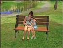 Azzurra & Stella(la sua sorellina) al parco