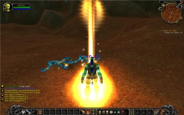 world of warcraft level up