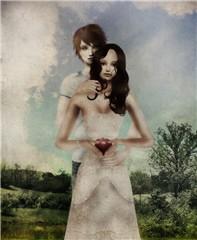 Human and vampire